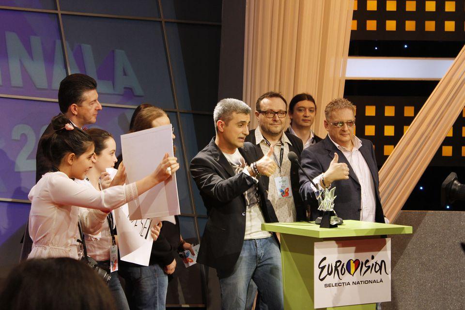 Cat de fierbinte este finala Eurovision Romania 2013