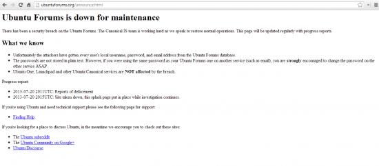 ubuntu hacked