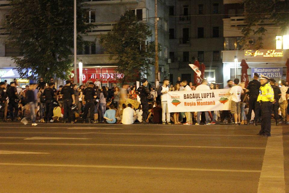 Protestul Rosia Montana de la Bucuresti