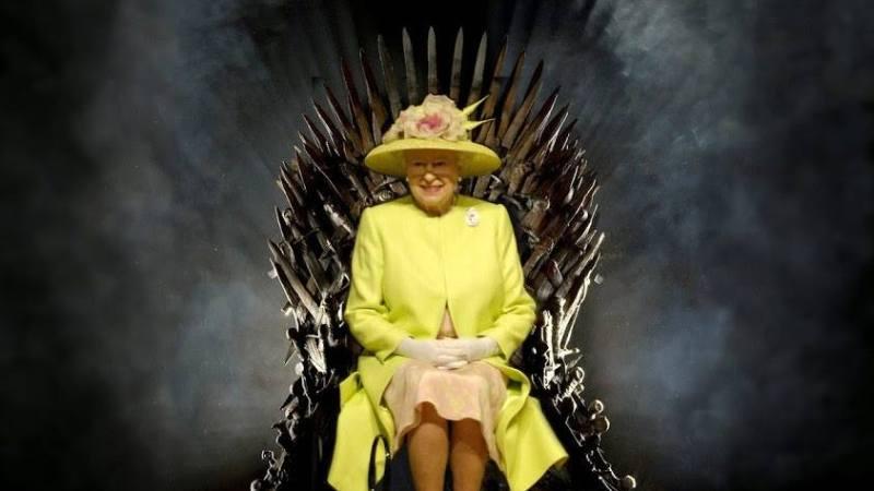 Regina Elisabeta a refuzat sa se aseze pe tronul din Game of Thrones