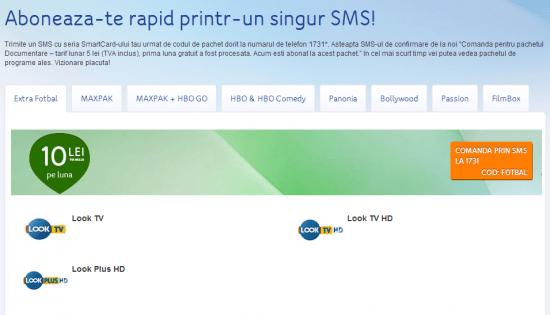 upc pachet internet
