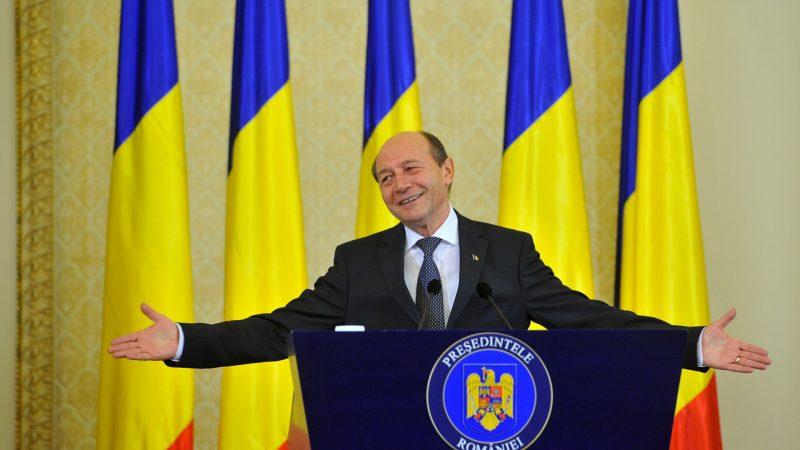 Traian Basescu, ultima conferinta de presa
