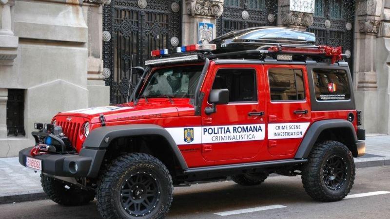 CSI de Romania sau doar o masina de offroad
