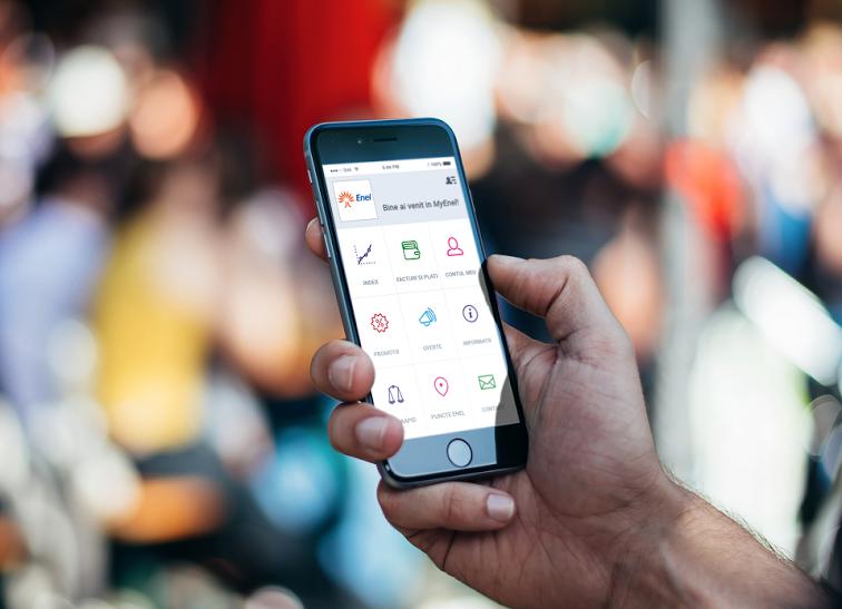 Cetățenii din București își pot plăti factura la curent de pe mobil
