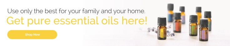 Use only the best for your family and your home. Get pure essential oils here!