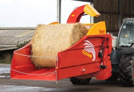 Mlin za slamu i biomasu.