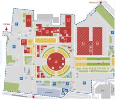 Romexpo - harta - TTR e doar în pavilioanele C