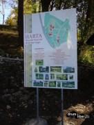 Harta Muzeului Octavian Goga de la Ciucea, județul Cluj