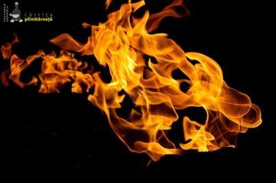 Focul viu de la Terca / Lopatari (județul Buzău)