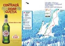Hartă pârtie de schi Vârtop, Arieșeni