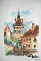 Turnul cu Ceas - Pictură - Cetatea Medievală Sighișoara
