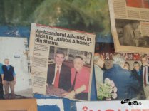 Ambasadorul Albaniei și actualul patron, Hashim Memish