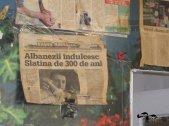 Titlu cu albanezii noștri într-un vechi ziar