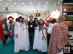 Am răpit domnițele dace venite de la Zalău :)