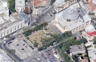 Google Maps 45 grade București Ateneul