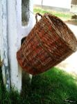 Coș de gunoi în Viscri