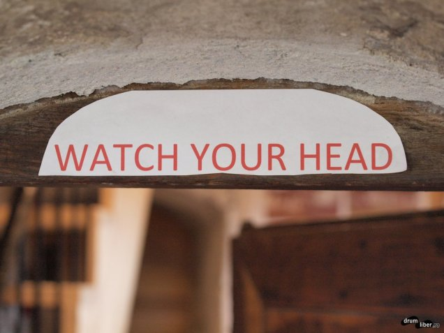 Ai grijă la cap...