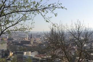 panoramă impresionantă asupra Clujului