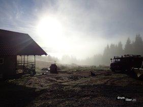 Ceața dimineții în Apusenii de Cluj
