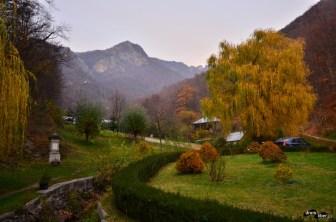 Peisaj la Mănăstirea Turnu