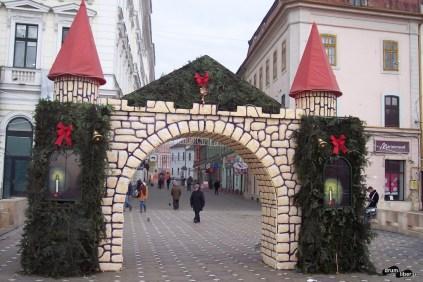 Decorațiuni de iarnă în Timișoara