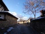 Ulița spre casa lui Brâncoveanu din Arbanasi