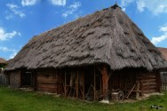 Casa lui Badea Cârțan, puțin prelucrată