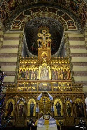 Interior biserică