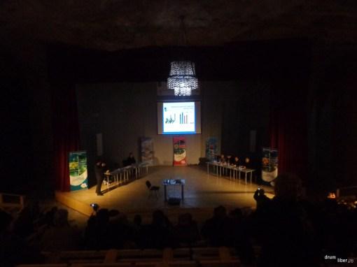 A doua sesiune a conferinței, în salină