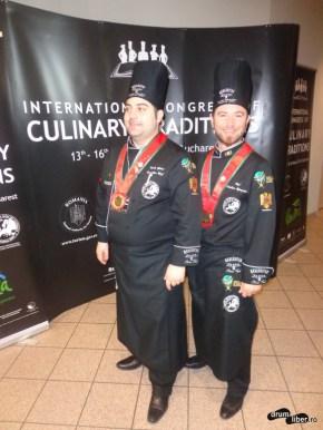 Din echipa culinară a României