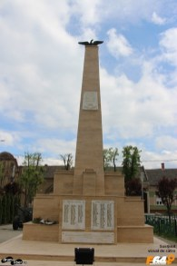 Al doilea monument al eroilor, replacat recent