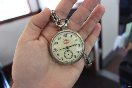 Ceas vechi de mecanic de tren