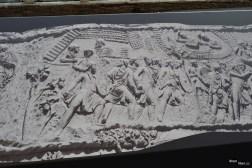 Columna lui Traian, desfășurată - 102