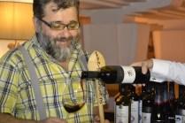 Costin, captivat de vinul românesc