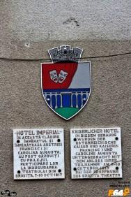 Am dat și peste hotelul unde stat împăratul