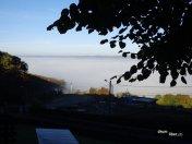 Așa se vede de sus de la Mănăstirea Nicula