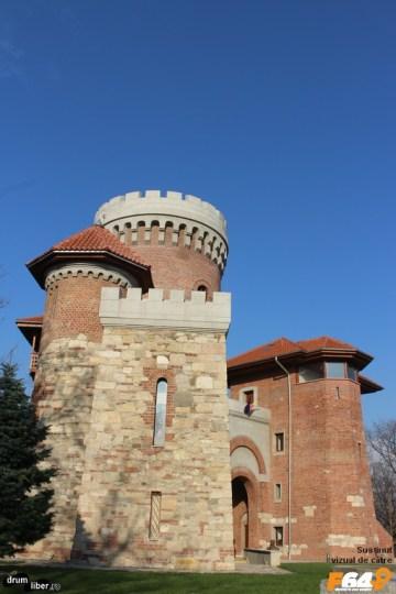 Castelul lui Țepeș de lângă Parcul Carol