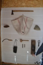 Unelte folosite în prelucrarea iascăi