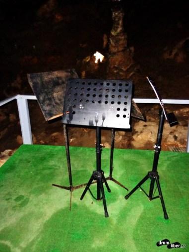 Pentru concerte în Peștera Valea Cetății