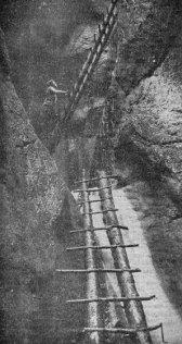 Canionul 7 Șapte Scări - loc răcoros în 1936
