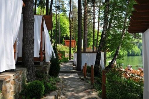 Ponton Casa Baraj - la Văliug, Semenic