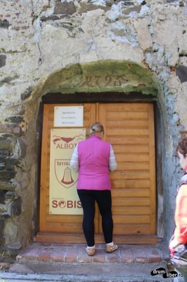 Intrarea în Turnul Slăninii
