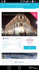 Aplicația de Android HotelScan