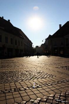 În centru la Sibiu