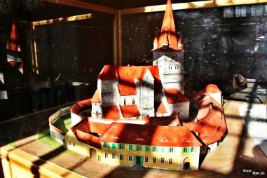 Machetă de biserică evanghelică fortificată (Cisnădie)
