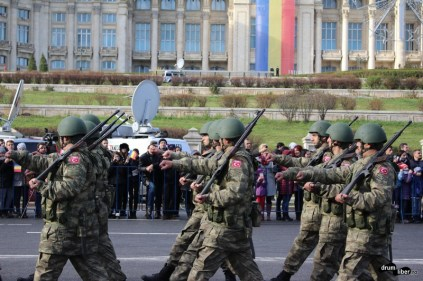 Defilare 1 decembrie 2015 București