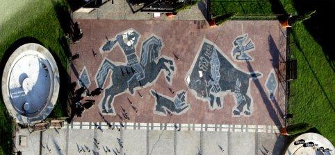 Mozaicuri în Iași: legenda Moldovei