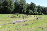 Vedere în Zona Sacră din Sarmizegetusa Regia
