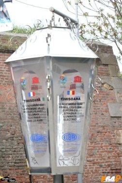 Primul oraș european continental complet iluminat elecctric