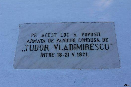 Aici s-a adăpostit Vladimirescu înainte de a fi capturat